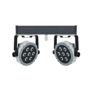 Showtec compact LED par7 RGB spot two-bar Image